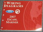 2007 Ford Escape Mercury Mariner Wiring Diagram Service Manual