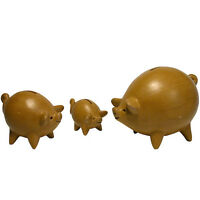 NEW! Ceramic Piggy Banks Handmade in Peru Fair Trade