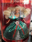 1995 BARBIE HAPPY HOLIDAYS RICH EMERALD GREEN SATIN SPECIAL EDITION