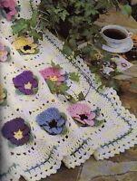 Crochet Pattern Afghan Throw Blanket