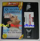 film VHS QUALCOSA E' CAMBIATO J. Nicholson CARTONATA PANORAMA1997 (FP3* ) no dvd