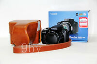 Leather Camera Case Bag Cover For Canon Powershot SX50 HS brown New