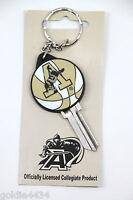NEW - US Army ACADEMY Black Knights Basketball SC1 Schlage Blank KEY Keychain