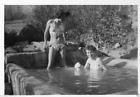 AO924 Photo vintage anonyme femme woman maillot bikini sexy pin up vers 1940