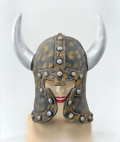 ANCIENT NORDIC #WARRIOR HELMET WITH HORNS MEDIEVAL & GOTHIC ARMOUR FANCY DRESS