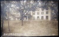 AUBURNDALE MA ~ 1919 BRAGDON HALL ~ LASELL SEMINARY ~ Real Photo PC  RPPC