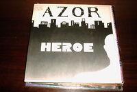 """AZOR - HEROE 7"""" SINGLE HARD ROCK HEAVY METAL"""