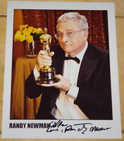 RANDY NEWMAN ~ HAND SIGNED AUTOGRAPHED 10x8 PHOTO STILL ~ AUTHENTIC AUTOGRAPH