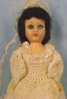 Vintage 1950 S Hard Plastic 19 Quot Walker Bride Doll Ebay