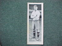 1930's Topical Times - Panel Portrait Photo Card - Ray Westwood Bolton Wanderers