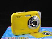 aquapix 16MP max underwater digital camera, Waterproof, lomo effect, yellow