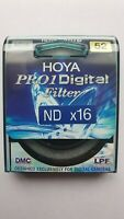 Genuine New Hoya 52mm Slim Thin  Pro1 Digital Multi Coated ND16 filter
