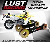 Suzuki DRZ400 DRZ 400 E S SM Lowering Kit Suspension Drop Links Linkage Dogbones