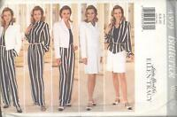 Butterick 4399 Misses' Jacket, Shirt, Skirt and Pants 6, 8, 10  Sewing Pattern
