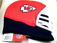 NFL Team Helmet Fleece Hat Officially Licensed Kansas City Chiefs - Youth Medium