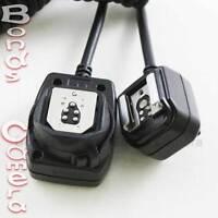 For Canon Off Camera Flash Extension TTL Shoe Sync Cord OC-E3 580EX II 430EX