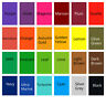 All in one Acid Dyes - Large (50g) - 23 colours for wool, silk, feathers, nylon