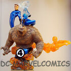 SIDESHOW SAMPLE Exclusive FANTASTIC FOUR 4~DIORAMA~STATUE Mr HUMAN TORCH THING