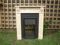 Fire Surround with Corbels pine bedroom  / Brackets.      Plus Made To Measure