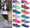 Ladies Womens Celebrity Gym Jogging Running Sports Lace Trainers Flat Shoes Size