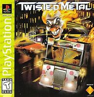 TWISTED METAL PS1 PLAYSTATION 1 DISC ONLY