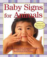 NEW Baby Signs for Animals (Baby Signs (Harperfestival)) by Linda Acredolo
