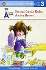 NEW Second Grade Rules, Amber Brown (A Is for Amber) by Paula Danziger