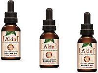 3 x 23ml A'KIN Akin Pure Radiance ROSEHIP Oil - Certified Organic Rose Hip