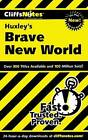 NEW CliffsNotes on Huxley's Brave New World (Cliffsnotes Literature Guides)