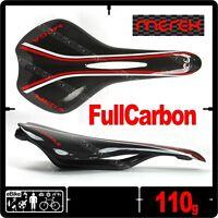 Merek MEGA SD16  Full 3K Carbon Rail Saddle Seat ROAD Bike 110g New