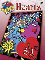 3-D Coloring Book--Hearts (Dover 3-D Coloring Book) by Carol Foldvary-Anderson