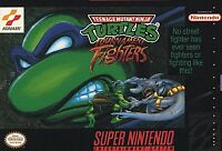 ***NINJA TURTLES TOURNAMENT FIGHTERS SNES SUPER NINTENDO GAME COSMETIC WEAR~