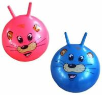2 HUGE TIGER RIDE HOP BALL bounce play toy balls riding kids child ride on new