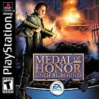 Medal of honor Underground PS1 Complete w/Manual * RPG GAME* Works on PS2