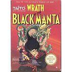 WRATH OF THE BLACK MANTA NES NINTENDO GAME COSMETIC WEAR