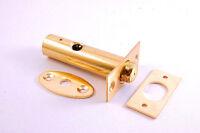 Security Door Window Standard Rack Bolt Bolts Lock Brassed Star Key Trendy 60mm