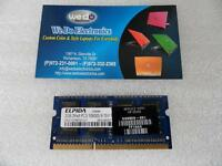 ELPIDIA 2GB Laptop RAM DDR3-10600 MEMORY 2Rx8 PC3 10600S, 598856-001
