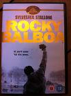 Sylvester Stallone rocky balboa ~Parte 6 VI ~ 2006 Magnífico Boxing Drama GB DVD