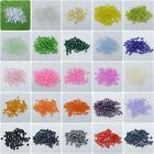 1000 Pcs 2mm Czech Glass Seed Spacer beads Jewelry Making DIY Pick More Color Z0