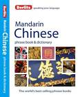NEW Berlitz Mandarin Chinese Phrase Book and Dictionary by Berlitz Publishing