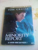 Tom Cruise Steven Spielberg MINORITY REPORT 2Disc Sp Edición Frances R2 DVD
