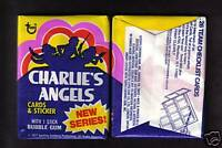 1977 Charlie's Angels Series 2 Wax Pack From Original Box
