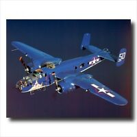 B-25 Military Aircraft Jet Airplane Wall Picture Art Print