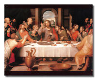 The Last Supper Jesus Christ Wall Picture Art Print