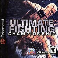 ULTIMATE FIGHTING CHAMPIONSHIP SEGA DREAMCAST DISC ONLY