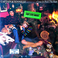 CAPTAIN & TENNILLE - COME IN FROM THE RAIN - A&M LP + POSTER - 1977 - SEALED