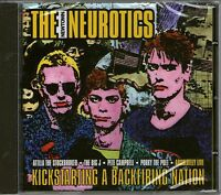 THE NEWTOWN NEUROTICS-Kickstarting A Backfiring Nation CD-BRAND NEW-Sealed-Punk