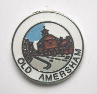OLD AMERSHAM QUALITY ENAMEL LAPEL PIN BADGE