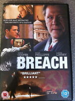 Chris Cooper Ryan Phillippe BREACH ~ Ausgezeichneter 2007 Spy Thriller UK DVD