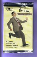 Mr Bean Trading Card Pack Fresh from Box!